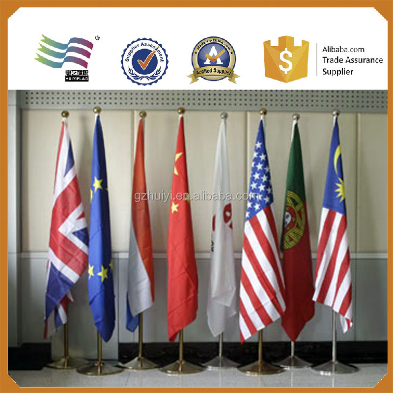 Indoor Office Flag Poles With Stand - Buy Indoor Flag Poles With ...