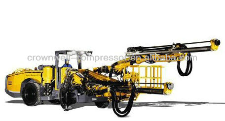 Atlas Copco Drill rigs and rock drills (AC Drill rigs and rock drills )Boomer L2 D: Face drilling rig
