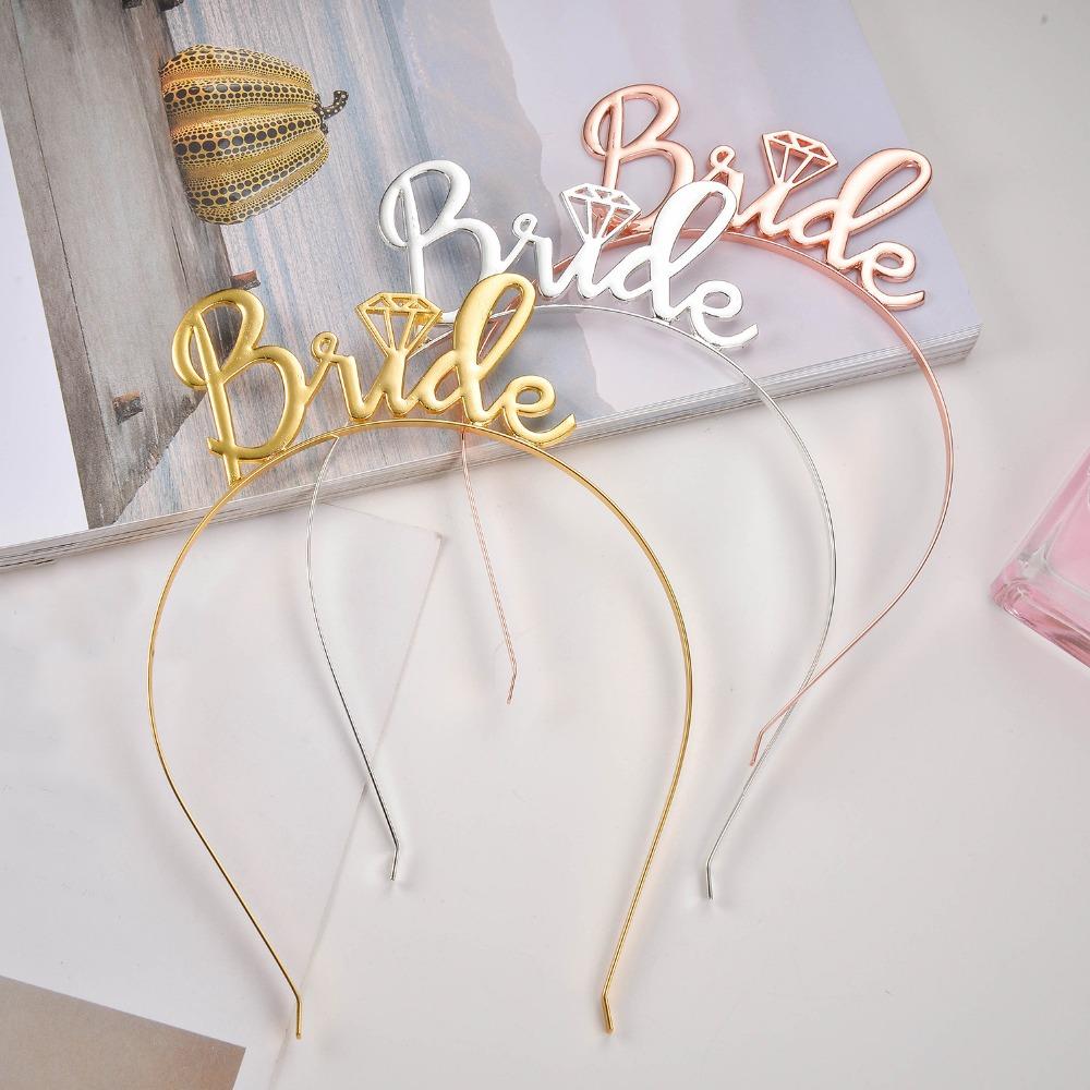 Festa de despedida de solteira tiaras de noivas festa de casamento decoração noiva para ser tiaras