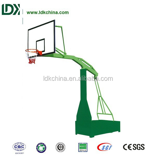 Cheap exercise training equipment outdoor basketball stand