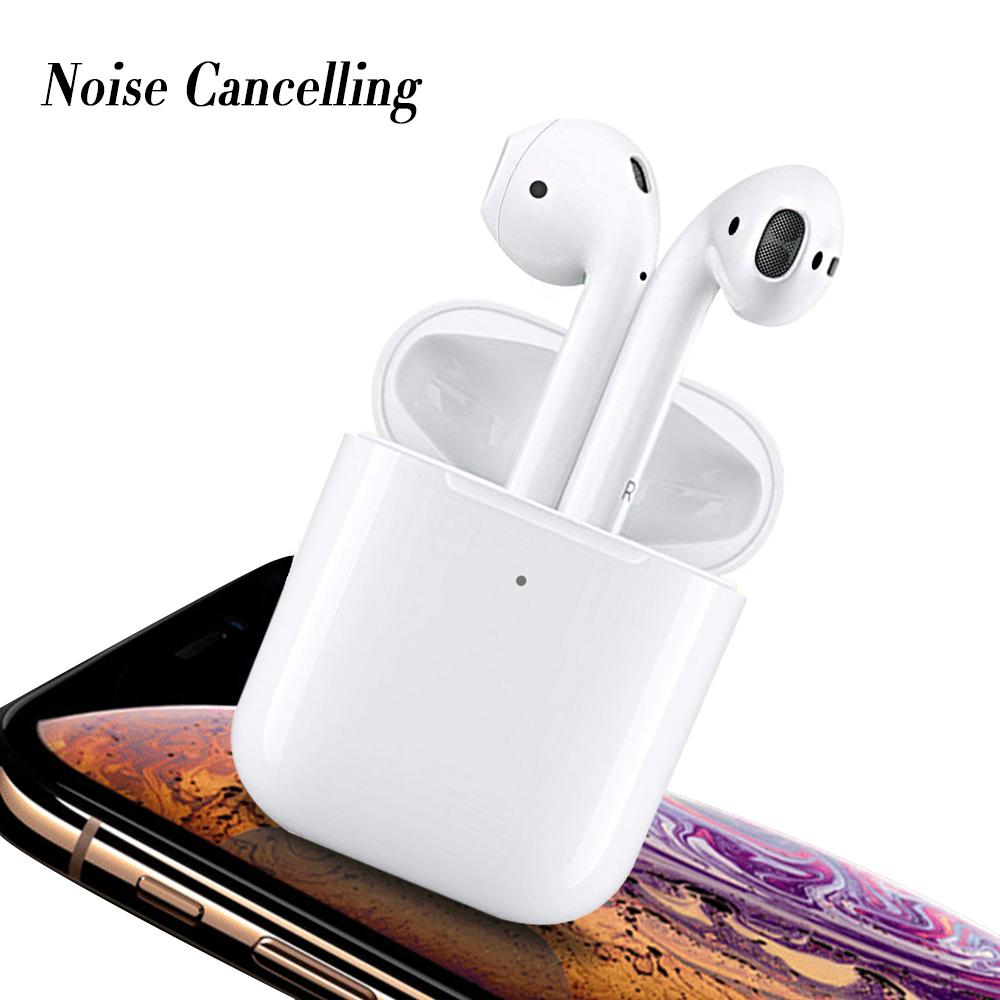 for air pods 1 to 1 Wireless Mini Tws Blue tooth Earphone Pairing With Magnetic Charging i7 i7s i9 i9s i10 i12 i16 i18 i20, White or oem