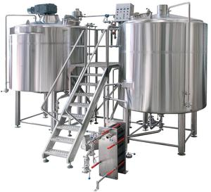 600l Craft Beer Brewing Equipment Mash Tun / Commercial Beer Brewing Equipment