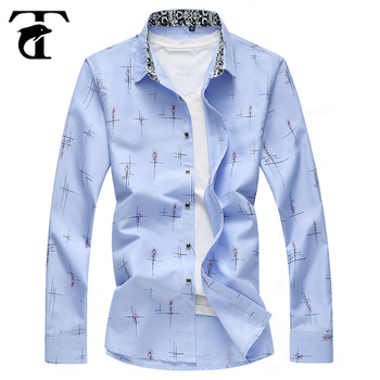cf277870a2 New Products 2018 New Style Direct Manufacturer Casual Cotton Blended Print  Design Latest Shirts Pattern For