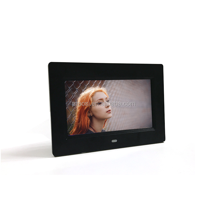 7 Inch MP4 1080 P Video Digital Photo Frame Termurah Kalender Jam Dinding