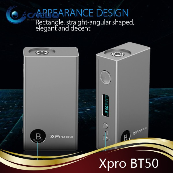 new generation 50w vw box mod Xpro BT50 smok bt50