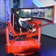 Theme Park game driving simulator price 3d car motion racing simulator cockpit