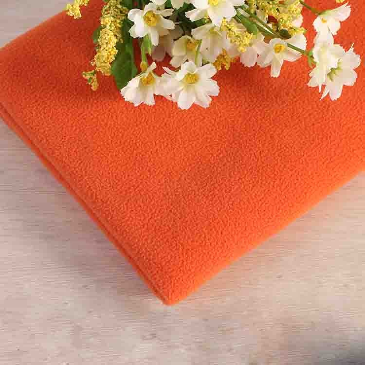 China factory popular 2019 customize 100 polyester knit micro polar fleece fabric