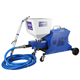 electric multifunction putty and liquid stone colorful paint spraying machine