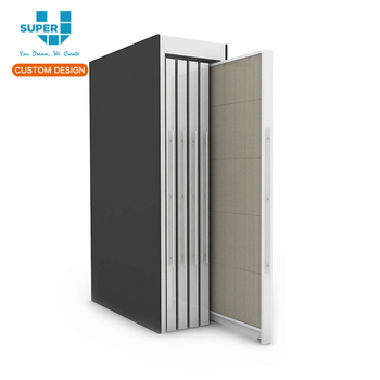 Modern Design Slide Tile Display Rack Stone Manufacturer Ceramic Racks