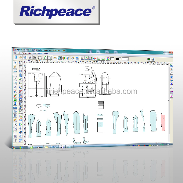 Richpeace Garment professional Pattern Design System