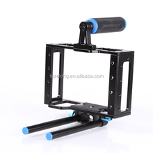 tezelong video camera cage rig grip support for 15mm rod rig Matte box Canon Nikon Camcorder DSLR NHL-ca15