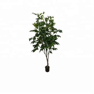 The most realistic artificial Cinnamomun camphcra faux olive foliage tree plant