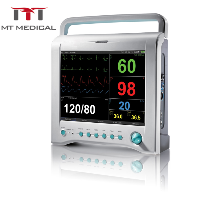 MPM-H Handheld Hospital Medical Equipment Vital Sign vet use blood pressure patient monitor