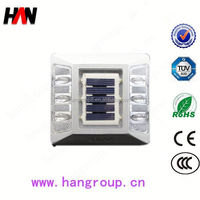HAN-03 solar led waterproof barrier block road stud spotlight