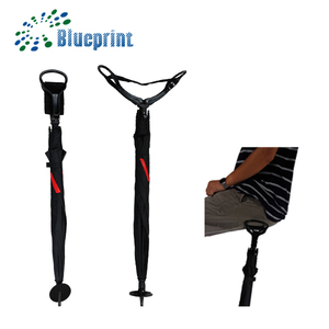 Straight promotional stick walker seat umbrella