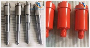 Three stage/3-stage telescopic hydraulic cylinder