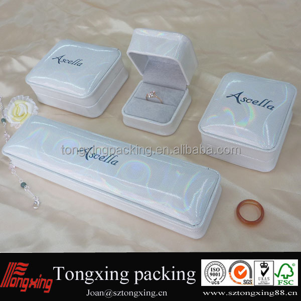 White Jewelry Box Suppier,Manufature in Shenzhen China