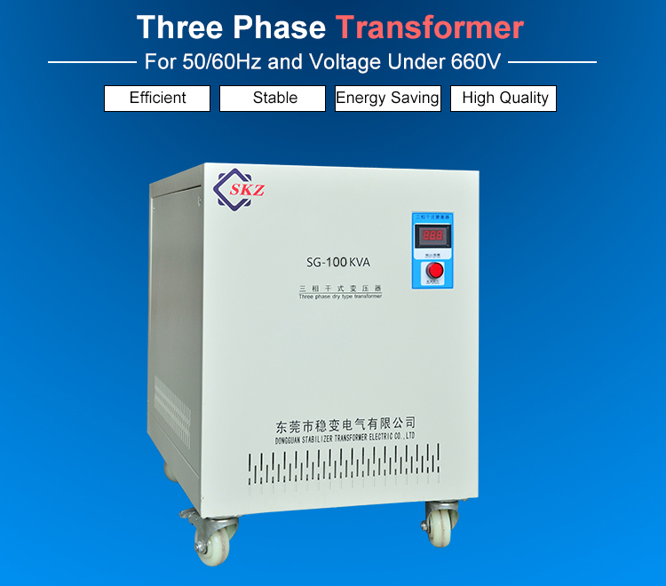 100KVA Three Phase Transformer
