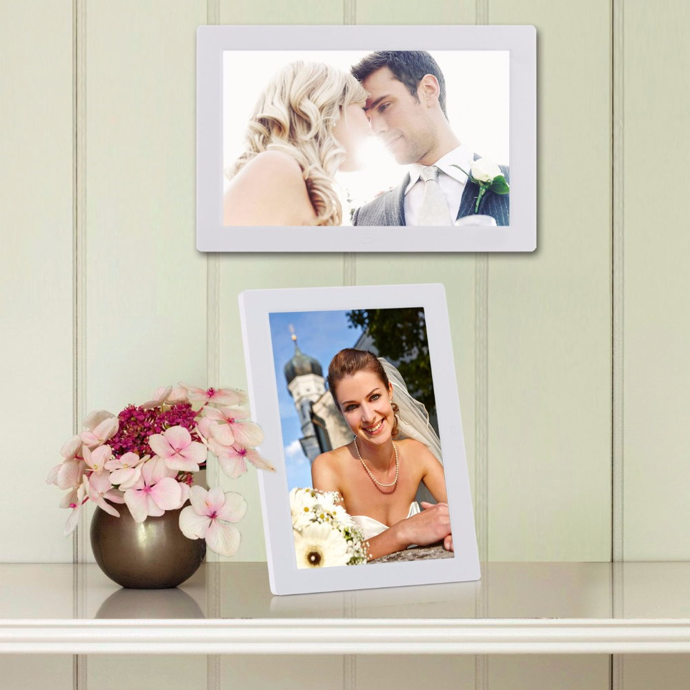super selling 12 inch touch key digital photo frame
