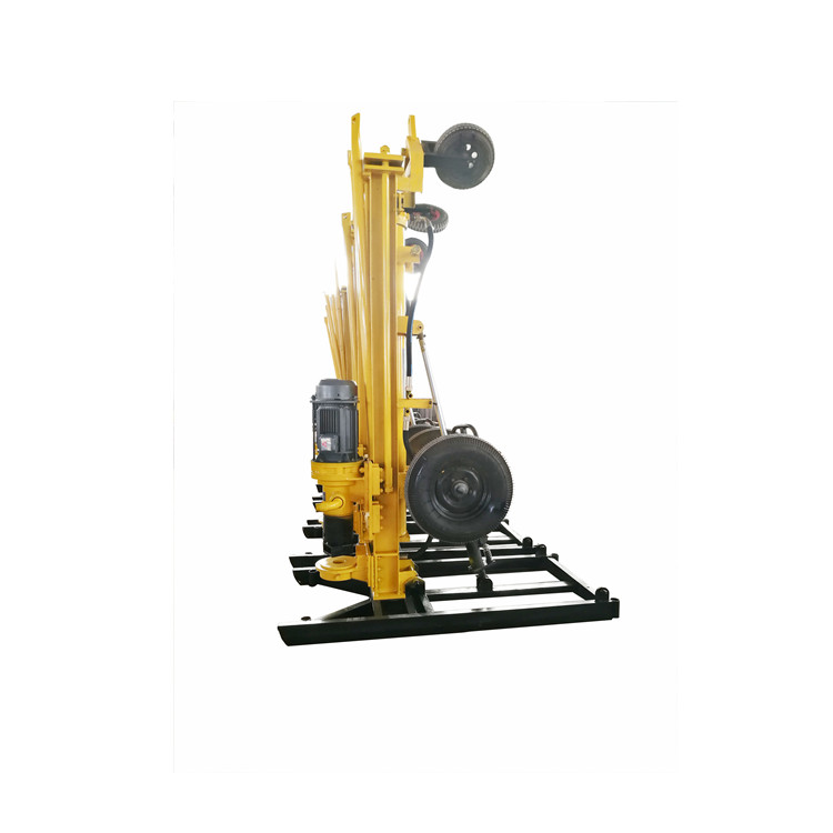 600kg Air DTH water well bore hole drilling rig