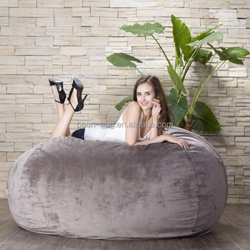 Large Comfy Foam Bean Bag Sofa Bed