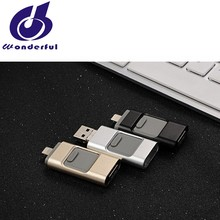 32G / 64G / 128G OTG USB 3.0 Flash Drive for iPhone iPad external memory storage