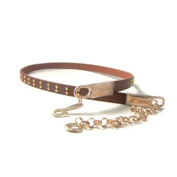 promotional products Women s Dress Metal Bling Mirror Plate Waist Golden  Chain Skinny Belt 1b2e2fca6b