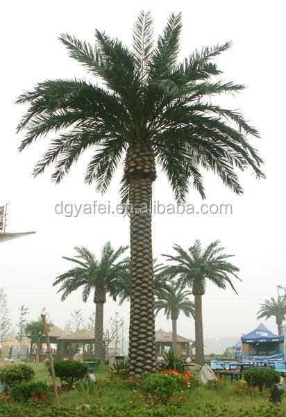 Outdoor Artificial tropical date palm