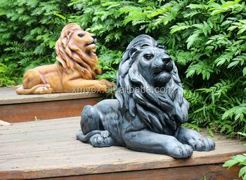 Patio decoraci n tama o de la vida animal escultura al Estatuas decoracion