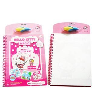 çocuklar Hello Kitty Boyama çizim Kitabı Ile Su Kalem Sihirli Sprey