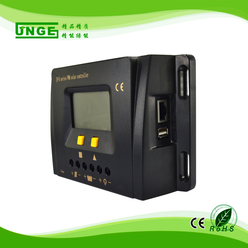 Chargers Solar Charge Controller 12v 24v36v 48v 50a Automatic Photovoltaic Solar Panel Controller Lithium Battery Lcd Screen Display Pwm Beautiful And Charming Accessories & Parts