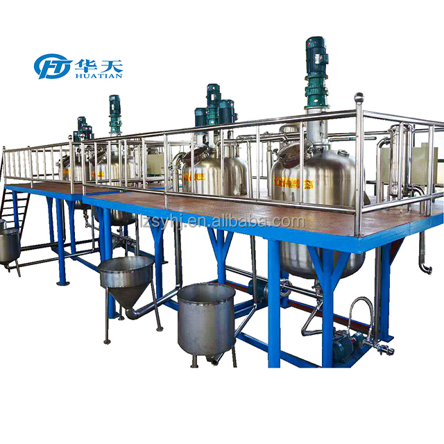 water based paint manufacturing equipment