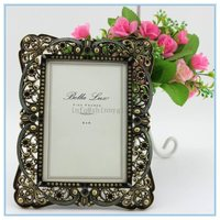 Shinny Gifts Metal materials family tree photo frame can put open hot girl photo sexy women photo in