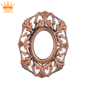New product bronze oval free sexy plastic photo frame