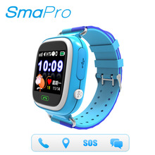 Hot sell GPS/LBS location, SOS, Remote Monitor android kids tracker wrist GPS baby smart watch phone