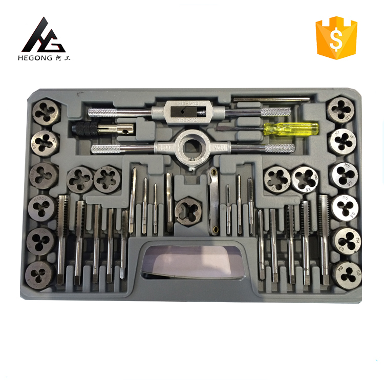 Various styles HSSE 40PCS tap and die tool set hot sale