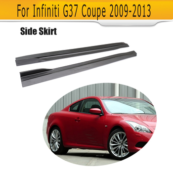 FRP Side Skirts Bumper Lip Spoiler for Infiniti G Series G37 Coupe 2Dr 09-13