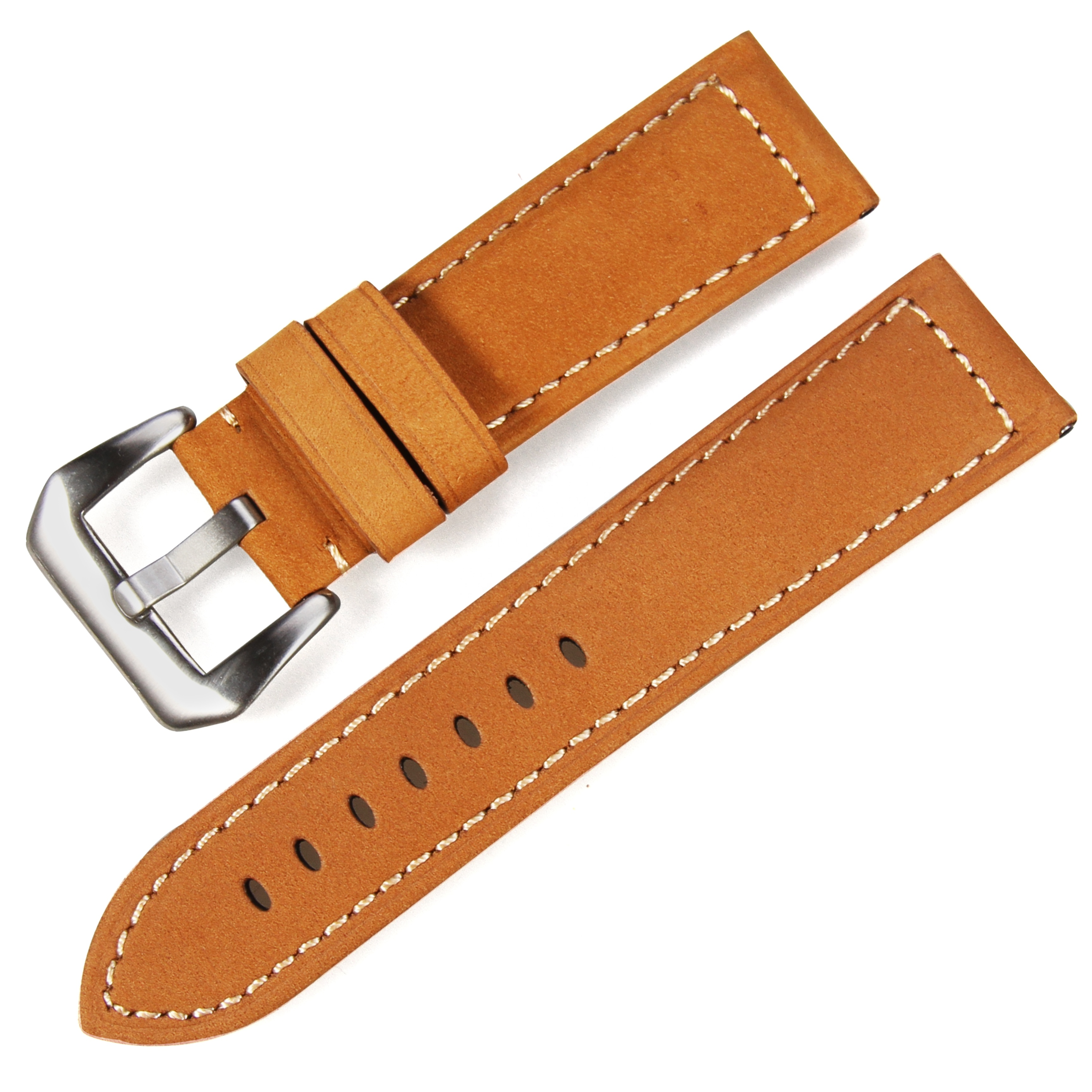 b0e88041b13 Stainless steel buckle 20-26mm low moq 3 colour Watch band for watch  Genuine leather