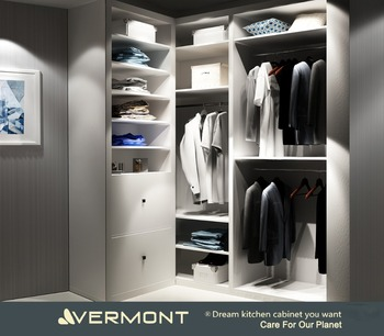 Superieur Vermont Custom Wooden His Walk In Closet Wardrobe Cabinetry / Men Bedroom  Closet Wardrobe Furniture