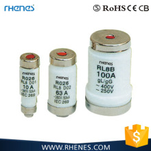 RO series 2A-100A LOW VOLTAGE HRC fuse link fuse core