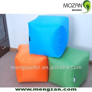 Indoor Square Bean Bag Pouf