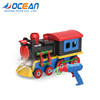 Wholesale assembly light plastic train toy electric with music