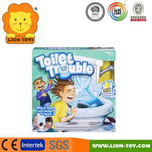 Hot Toilet trouble Game board game toy family game tricky toys washroom