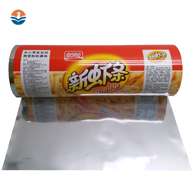 China Factory Price Laminated Packaging Plastic Metalized Cpp/Opp/Pet Film Aluminium Foil Roll Food Grade
