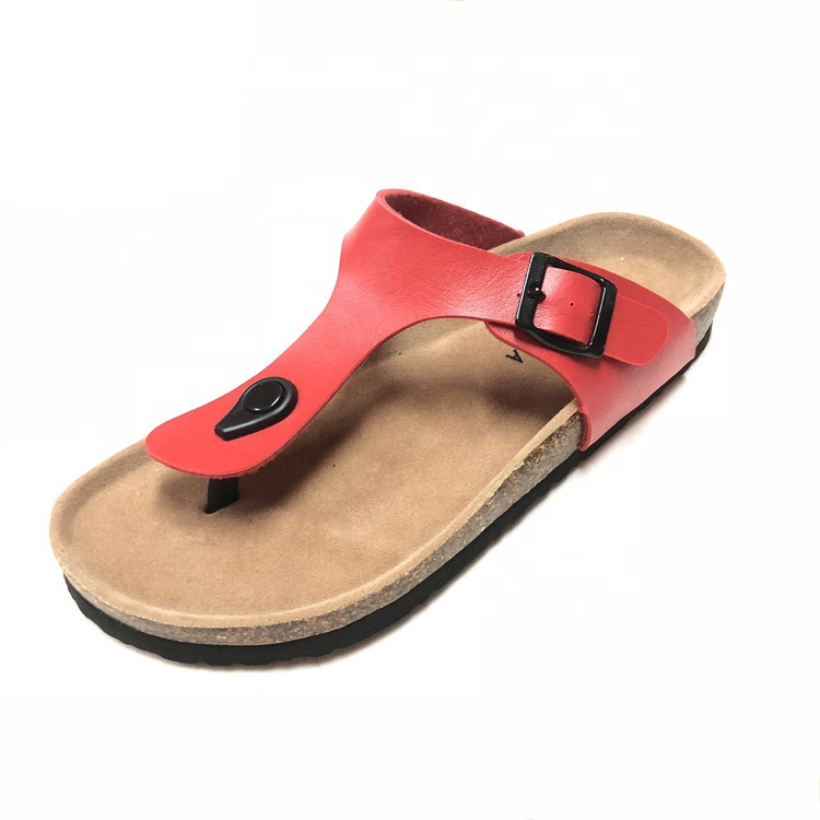 2019 New Fashion Hot Sale Summer Cork <strong>Slippers</strong> For Women