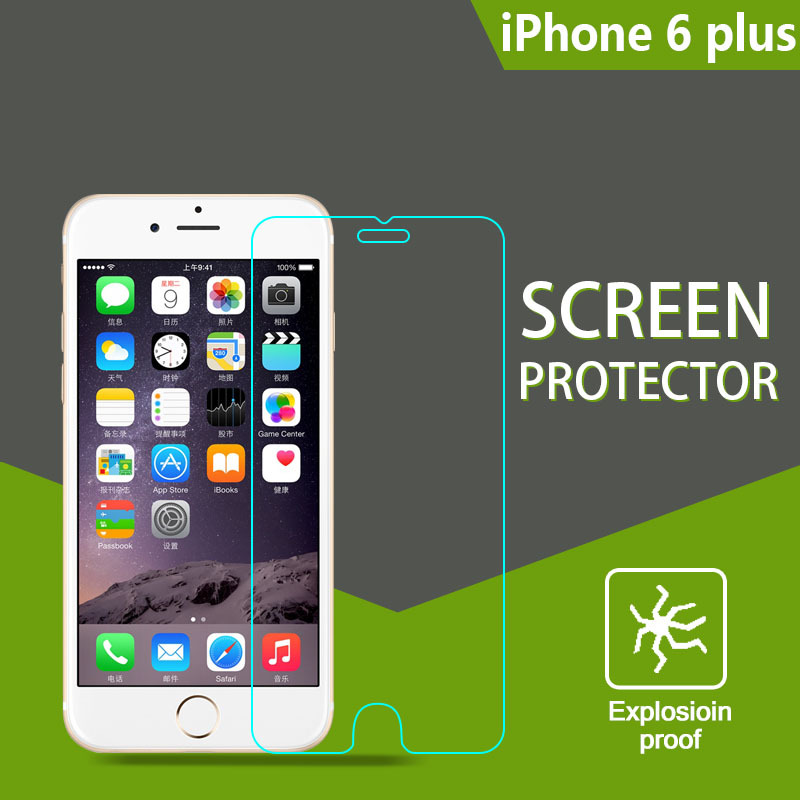 Scratch resistant mirror japan raw material mobile phone screen protector for iphone 6