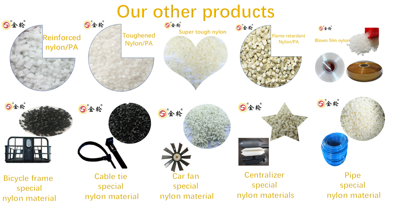 jinlun Spot Super tough nylon Granule material for pipe and pipeline,Can be used for tubing, forklift tubes and other tubing