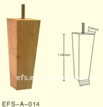 Supply Modern Cheap Furniture Legs,furniture Screw Leg,tapered Wood  Furniture Leg