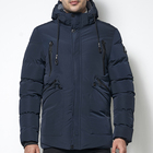 cz8806mn Thick Warm Hooded Plus Size Navy Men West Coat Jacket Coat Men Men Coat
