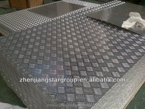 chequerd sheet aluminum for stairs and floor usage/camouflage aluminum sheets/dimpled sheets aluminum